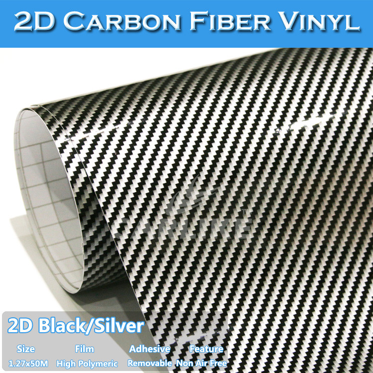 SINO High Grade Strong Adhesive Car Body Wrap 2D Carbon Fiber Suppliers