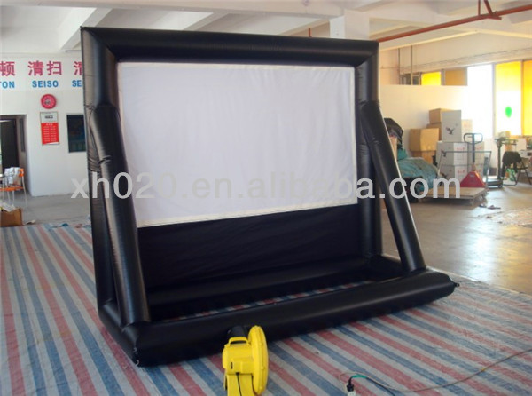 indoor pvc projector movie theater screen for sale