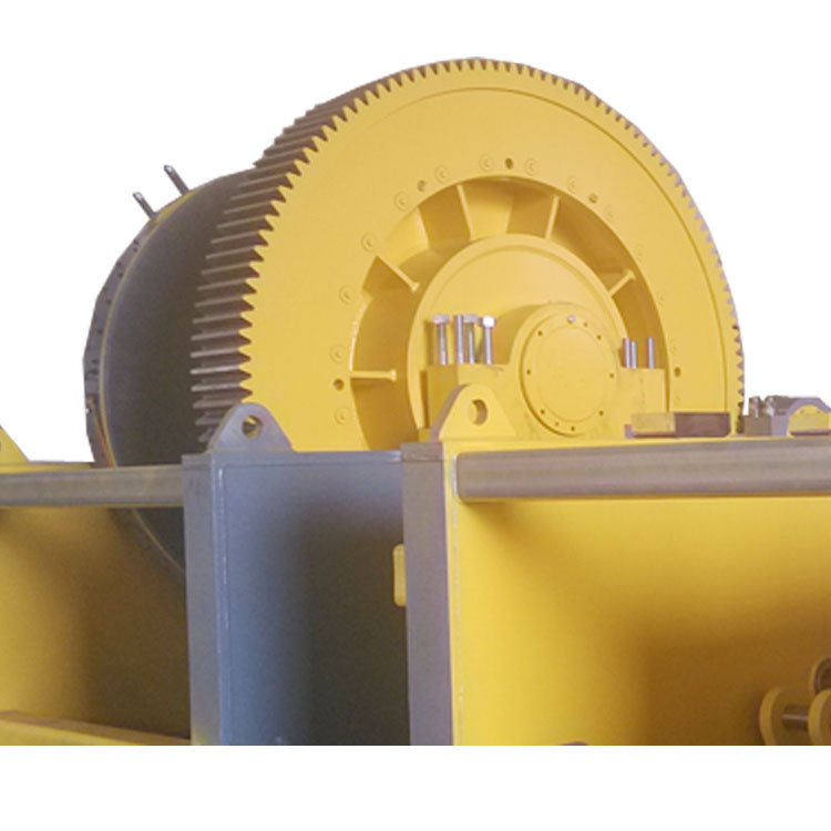 Large winch gearbox testing machine