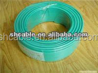 PVC insulated electrical cable rating