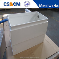 sheet metal aluminum battery box/battery cabinet fabrication