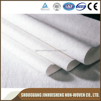 Cheap Recycled Polyester Non-woven Mat Fabric Rolls/ PET Stitch Bonded Nonwoven Fabric