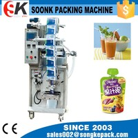High-speed automatic plastic bag heat sealing machine for water