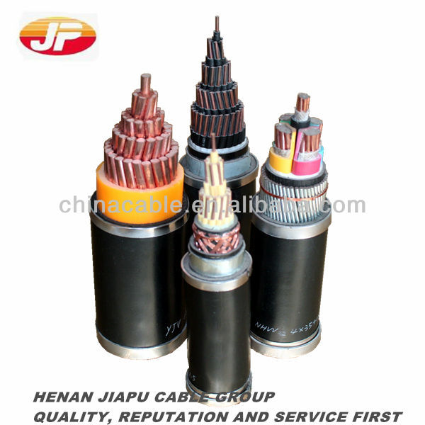 copper five core cable with tile type conductor