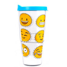 Custom Promotive Gift tumbler plastic with lid and straw cups