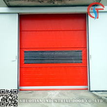 Remote control rapid speed pvc roller door