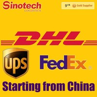 alibaba DHL/ EMS /TNT /UPS/FEDEX international express service from China to Spain sea /air freight by Sinotech