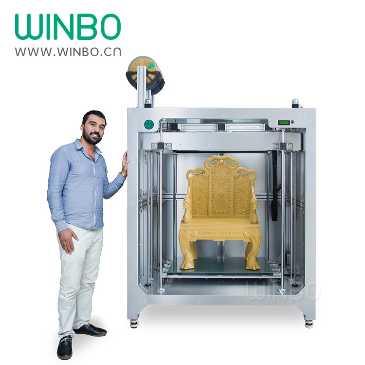 Winbo Big 3D Printer, High-Speed Large 3D Printer,Build Size 915*610*1220mm, Only USD29999, Most Practical Industrial 3D Printer