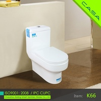 water saving economic 1 piece washdown siphonic water closet dual flush hung toilet wc