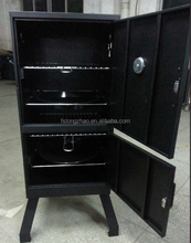 Chinese restaurant kitchen equipment meat/chicken charcoal grill smoker