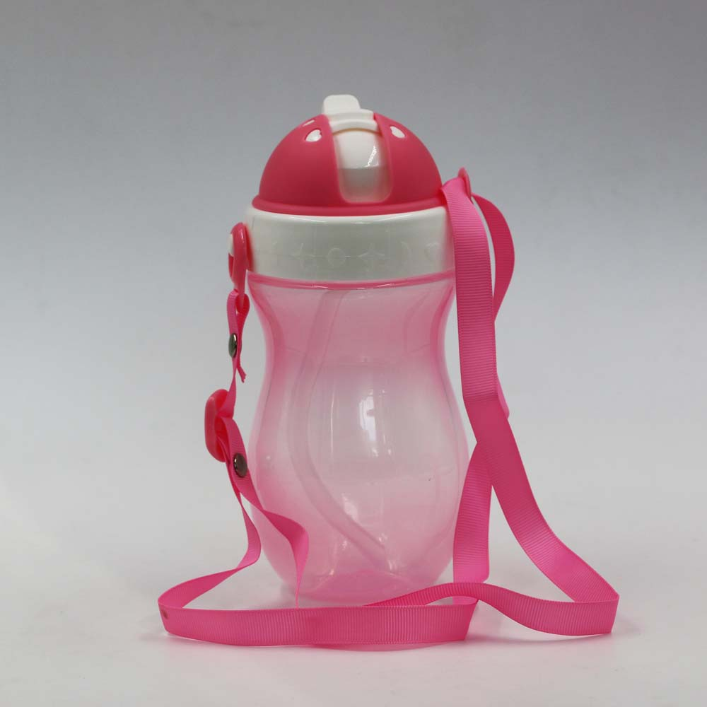 360 angle sippy free food grade PP material baby water drinking training sippy cup