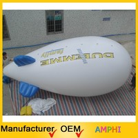 New design cheap Inflatable PVC Blimp / Airship / Airplane / Helium Balloon / Advertising inflatables