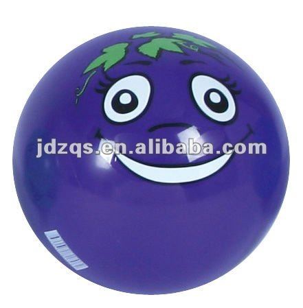 logo print ball/blue sticker ball