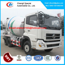 Dongfeng 10 14 cubic meter mobile concrete truck mixer