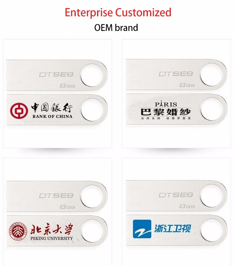 2Gb 4Gb 8Gb Usb Flash Drive Brand Custom Usb 3.0 Flash Drive For Kingston