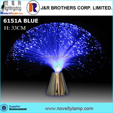 "promotion 13"" color changing FIBER OPTIC LIGHT"