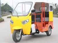 2016 gasoline three wheeler passenger tricycle