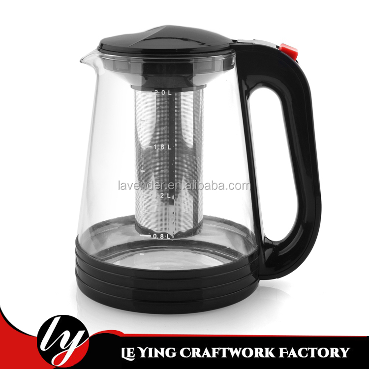 Good glass teapot/tea kettle with infuser
