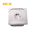 MUK hotel restaurant equipment stainless steel food container GN pan lid