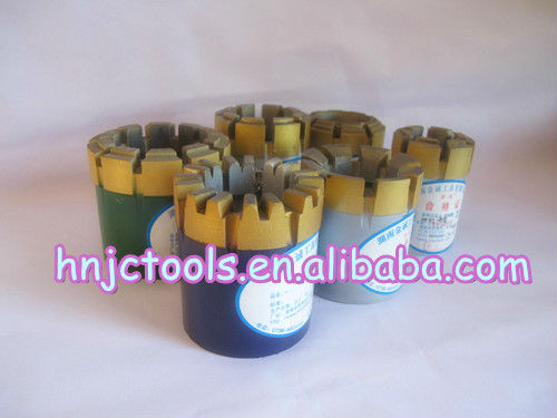 wire line impregnated diamond core drill bit