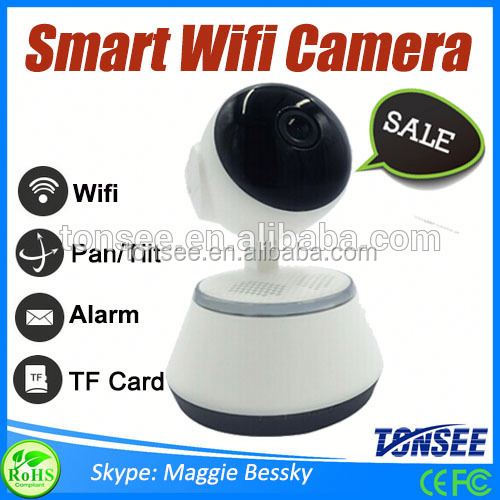 1.0 MP HD smart home wifi IP camera ,5mp ip camera, Ptz Wifi Wireless Ip Camera