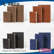 A5 PU Leather bound address book personalized telephone book wholesale