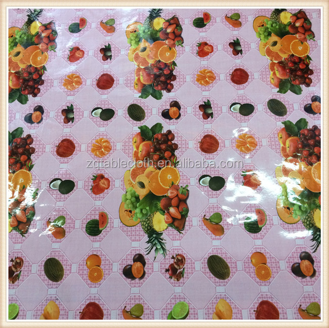 made in China embroidered Plaid cheap pvc tablecloth roll