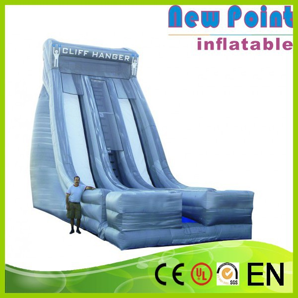 New Point PVC trampoline Inflatable Snow Slide for kids