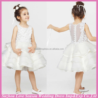 HF5019 OEM Accepted Top Quality Factory Price handmade new fashion beautiful wholesale baby girl princess dresses