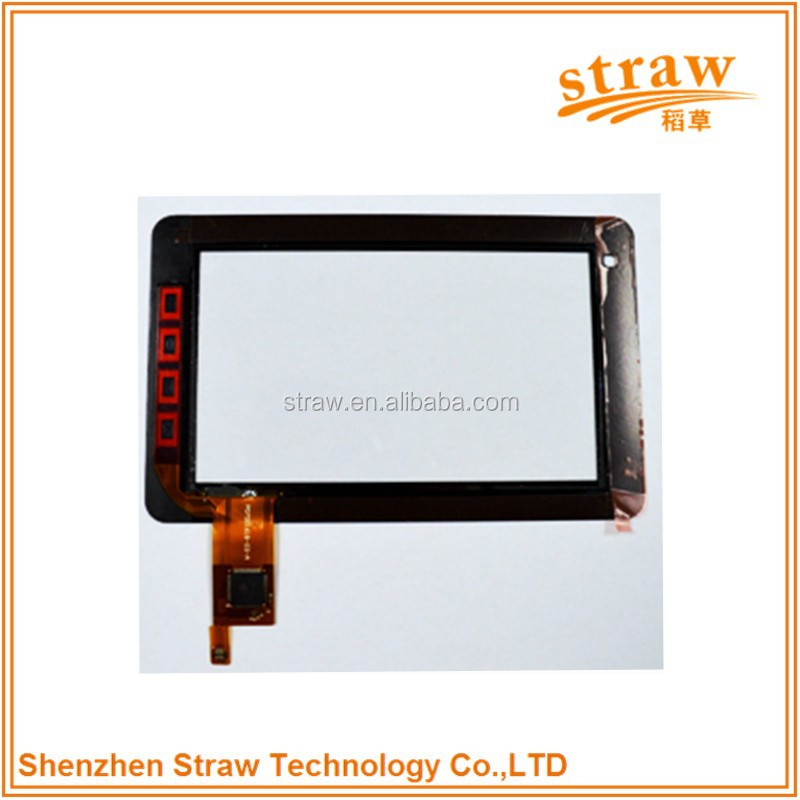 Transparent Glass Capacitive Touch Screen For Laptop spare parts