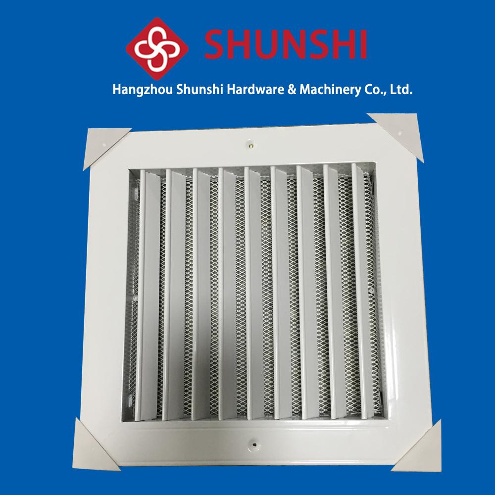 Square liner blade aluminum air ventilation grilles buy air ventilation grilles aluminum - Grille ventilation aluminium ...