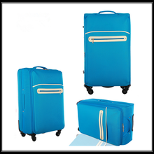 2017 fashion universal wheel luggage with removable wheels