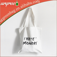 Personalize Canvas Tote Bag With Customized Printing