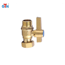 Manufacturer customize hydraulic brass dn15 valves npt thread ball valve