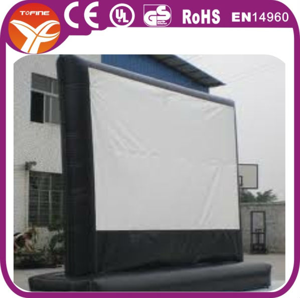 Good quality inflatable screen for sale, inflatable movie screen business opportunities