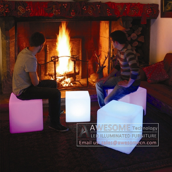 new product light up furniture/led cubes sale