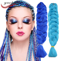 24 inch folded single color synthetic wholesale darling hair braid products kenya