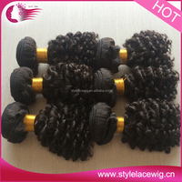 wholesale bohemian human weave hair jerry curl weave extensions human hair