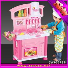 2015 hot item big kitchen set toy for wholesale