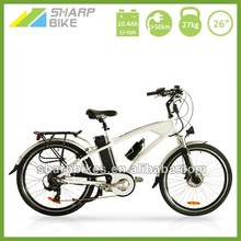 26 Inch 250w 36V Electric Mountain Bike for Sale White SP26EMB-A0