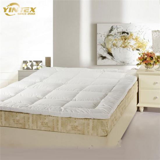 white goose feather mattress topper - Jozy Mattress   Jozy.net