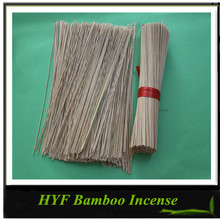 Nature blank unscented indian bamboo incense sticks