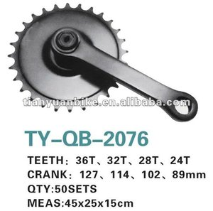 high quality Bicycle bike Chainwheel & Crank