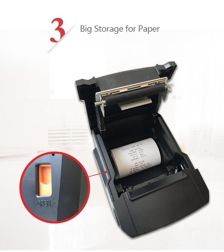 300Dpi Shipping Code 80 / 58Mm Non Programmable Thermal Transfer Barcode Label Sticker Printer 4X6 For Labels Printing