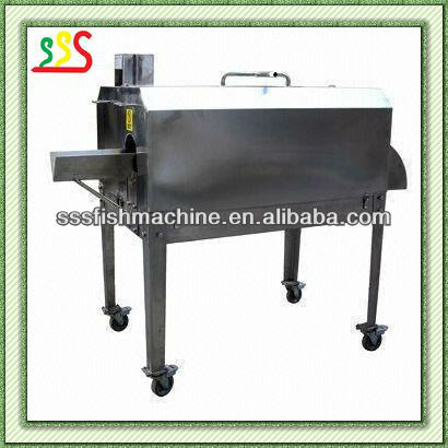 high-tech fish filleting machine with water cleaning
