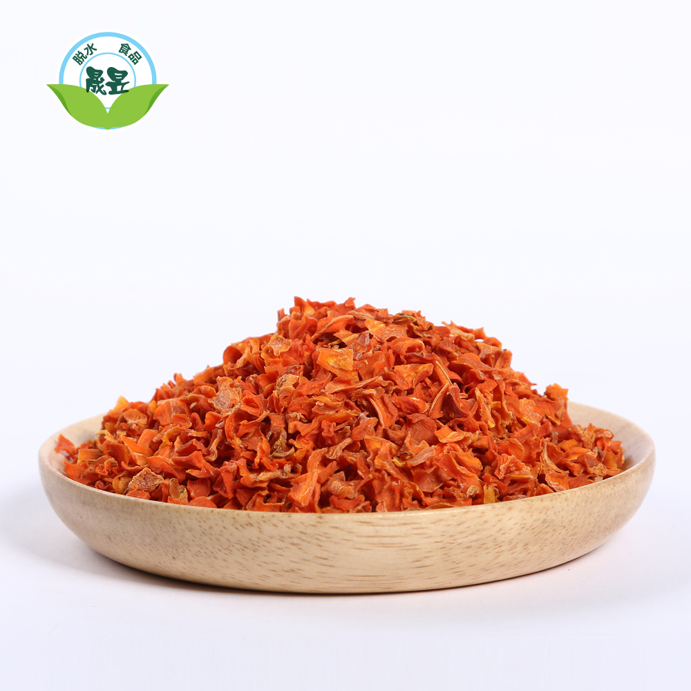 Cut Dehydrated Natural Dried Cooking Carrot Flakes