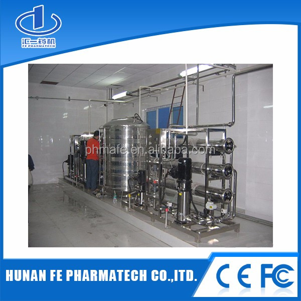 reverse osmosis water treatment machine / equipment / plant for pharmaceutical , chemical , cosmetic and food manufacturers