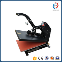Magnetic type Auto open t-shirt hot press machine