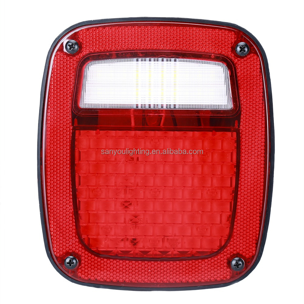 2017 new jeep wrangler led tail light 12V led tail lamp for jeep 10W