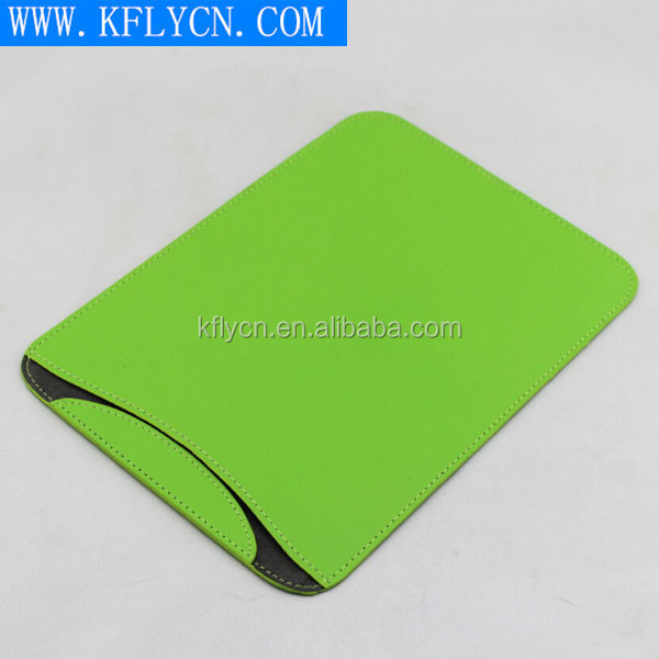Simple Design leather case with magnet for ipad